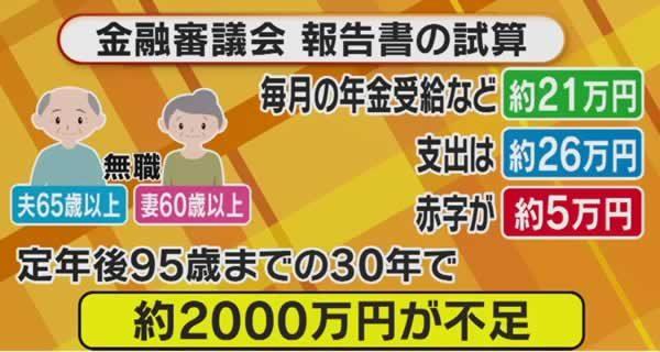 年金では老後2000万円不足」!?1円でも事業主負担と税投入を増やせ | ちば合同労働組合